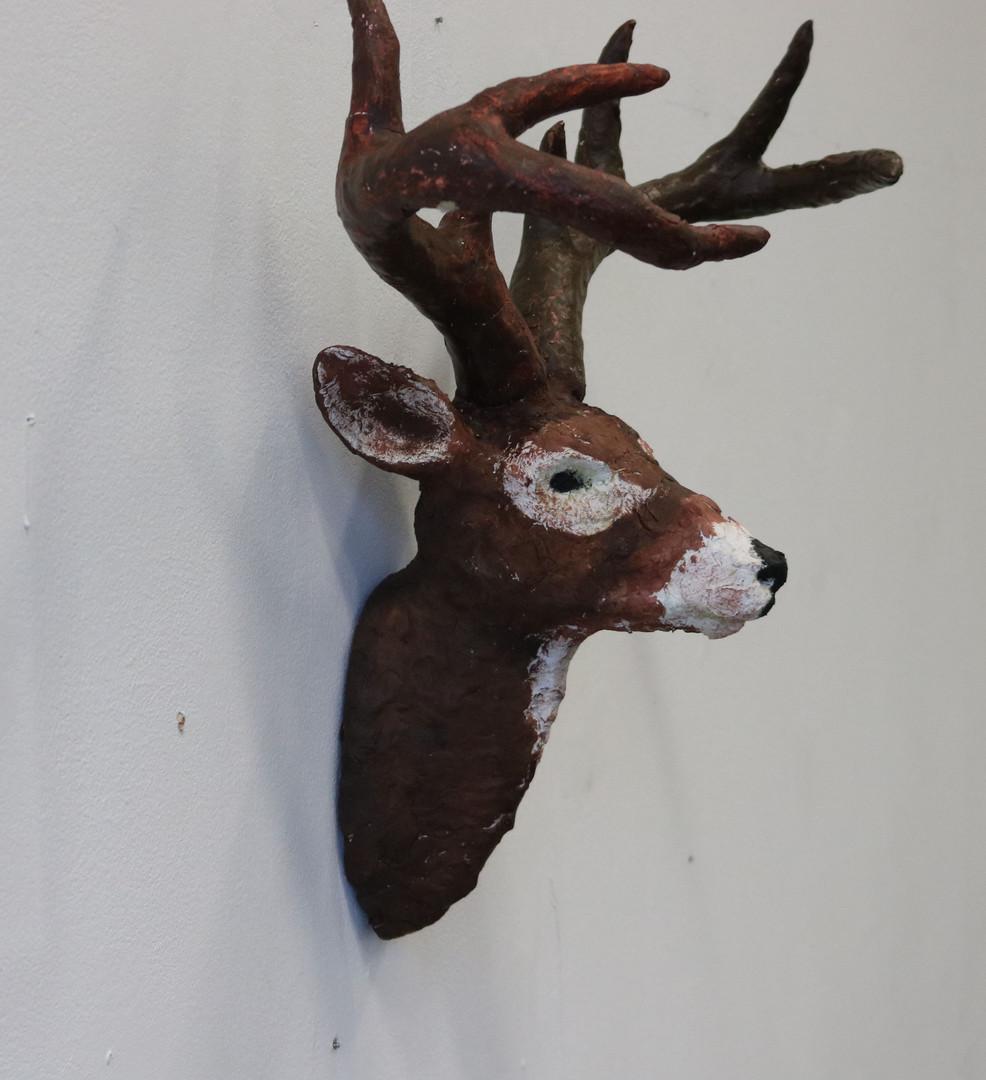 Deer head (side view)