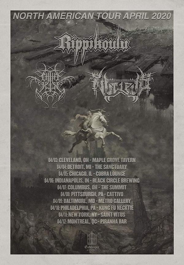 Chthe'ilist Tour Poster
