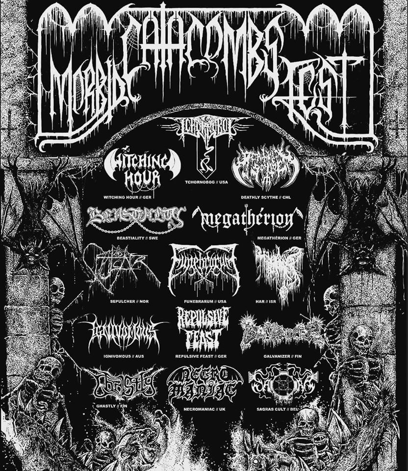 Funebrarum Shadows of Putrefaction Tour