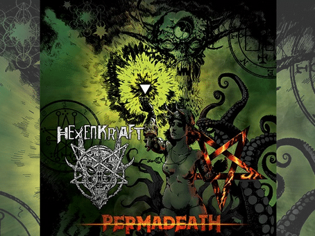"News : Hexencraft premieres new song ""Nightflame Eternal"" ft. guest Phil Tougas via Toiletovhell"