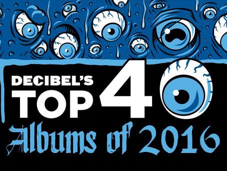 News : Chthe'ilist - Le Dernier Crépuscule ranked #28 in Decibel Magazine's top 40 albums of 2016