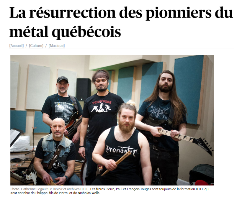 Le Devoir article