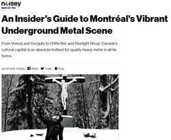 Chthe'ilist & Montreal Metal
