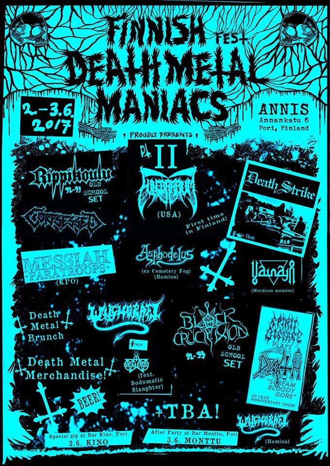 Finnish Death Metal Maniacs