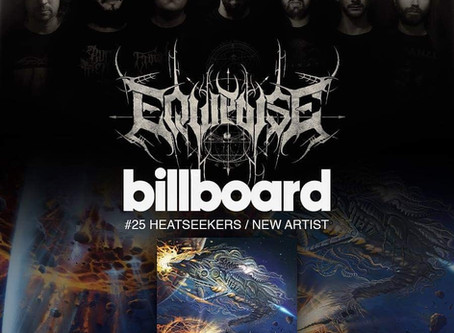 "News : Equipoise Debut LP ""Demiurgus"" out now, makes it to US Billboard charts at #25"