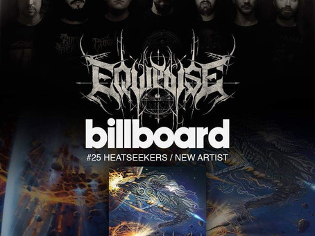"""News : Equipoise Debut LP """"Demiurgus"""" out now, makes it to US Billboard charts at #25"""