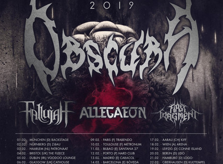 News : First Fragment kicks off European Tour with Obscura in Munchen, Germany