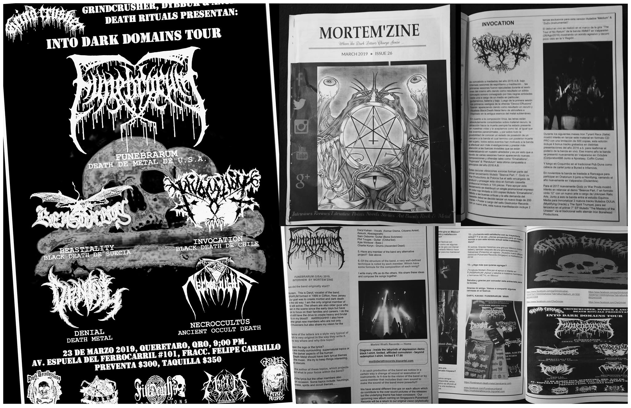 Funebrarum Mexico tour ad