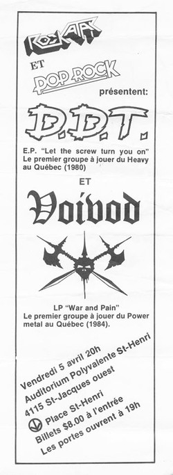 DDT & Voivod