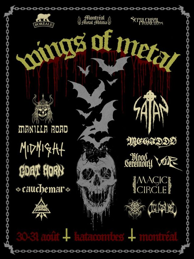 wings of metal