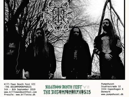 Chthe'ilist announces exclusive European appearance at Kill Town Death Fest & Quebec Death Fest