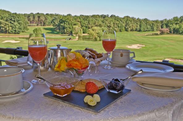 Breakfast Golf Hote Castelconturbia