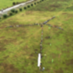 wereldrecordpoging Levende Windmolen draagvlak windenergie