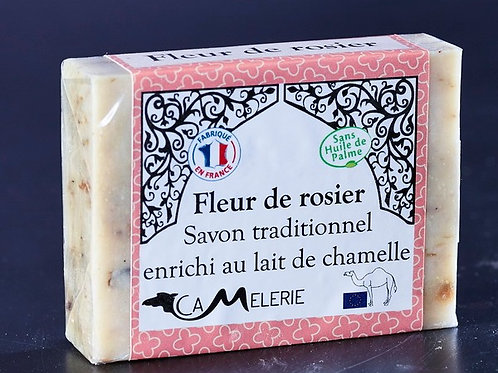 """Savon au lait de Chamelle """"Fleur de rosier"""""""