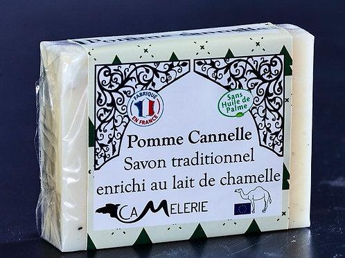 """Savon au lait de Chamelle """"Pomme cannelle"""""""