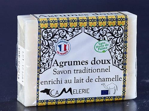 """Savon au lait de Chamelle """"Agrumes doux"""""""