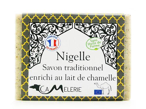 """Savon au lait de Chamelle """"Nigelle"""""""