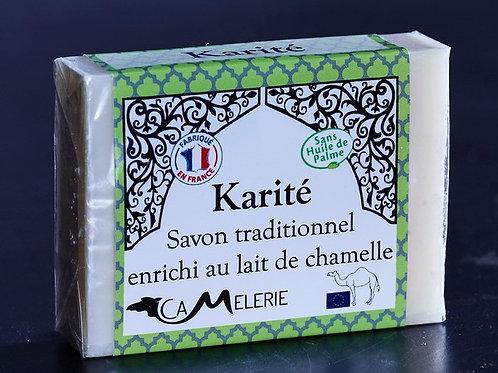 """Savon au lait de Chamelle """"Karité"""""""