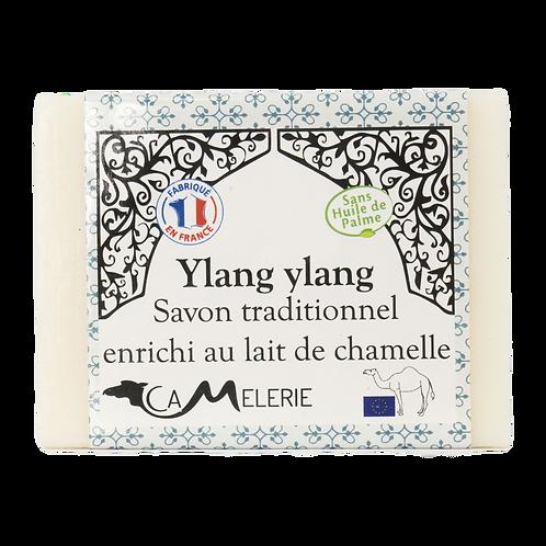 "Savon au lait de Chamelle ""Ylang ylang"""