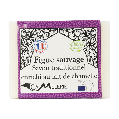 """Savon au lait de Chamelle """"Figue sauvage"""""""