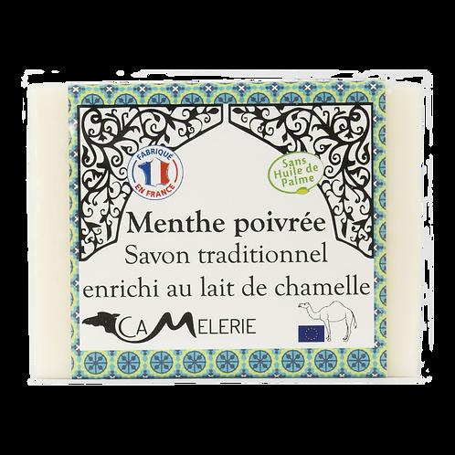 """Savon au lait de Chamelle """"Menthe poivrée"""""""