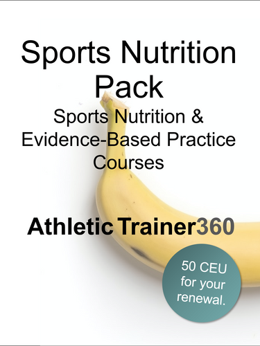 Sports Nutrition Course Pack