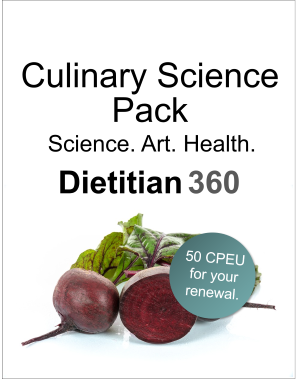 Culinary Science Course Pack