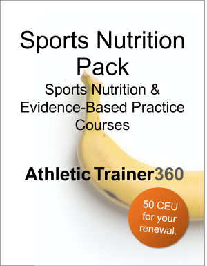 Sports Nutrition Pack