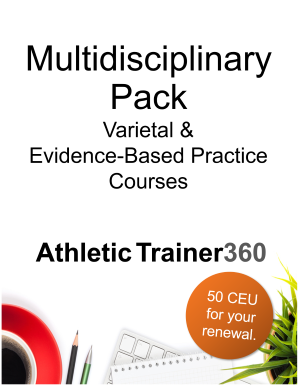 Multidisciplinary Pack