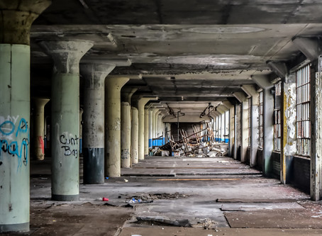 Conner Cadillac Plant - An Abandoned City