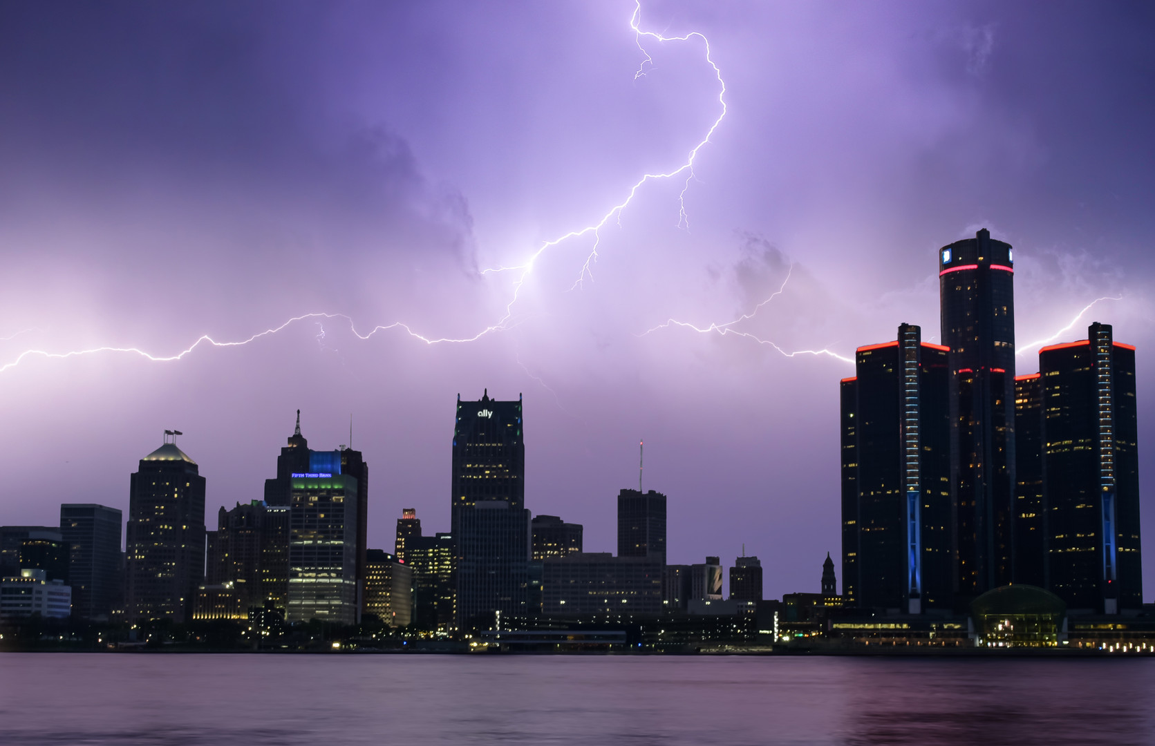 Storms Over Detroit