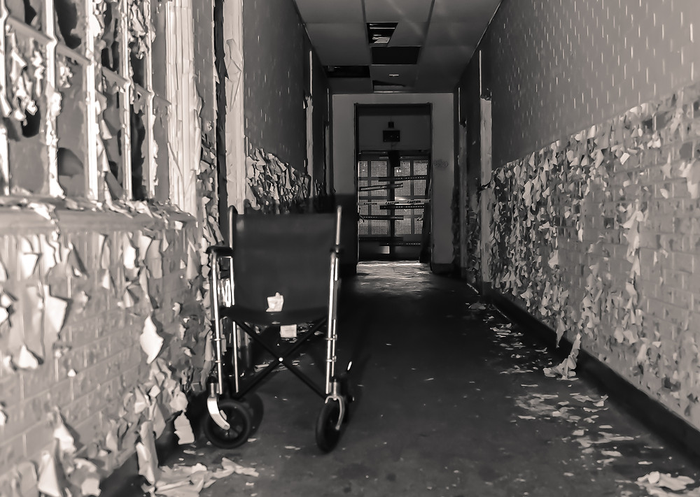 Eloise, Abandoned, Michigan, Haunted, Detroit Paranormal Expeditions, J&C Photography, Broken, Ghost, Surgery Room, Paranormal