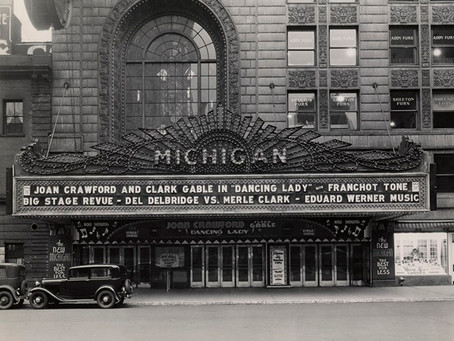 A Tour of Detroit's Michigan Theater