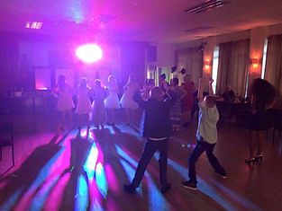 School Prom disco at the BRSA club in Ashford Kent