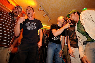 Lads night out karaoke