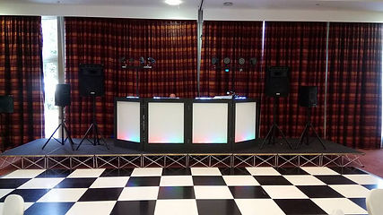 Wedding disco at Sandy Acres Ashford Kent.