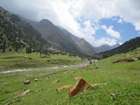 Jiptik Pass, Kyrgyzstan