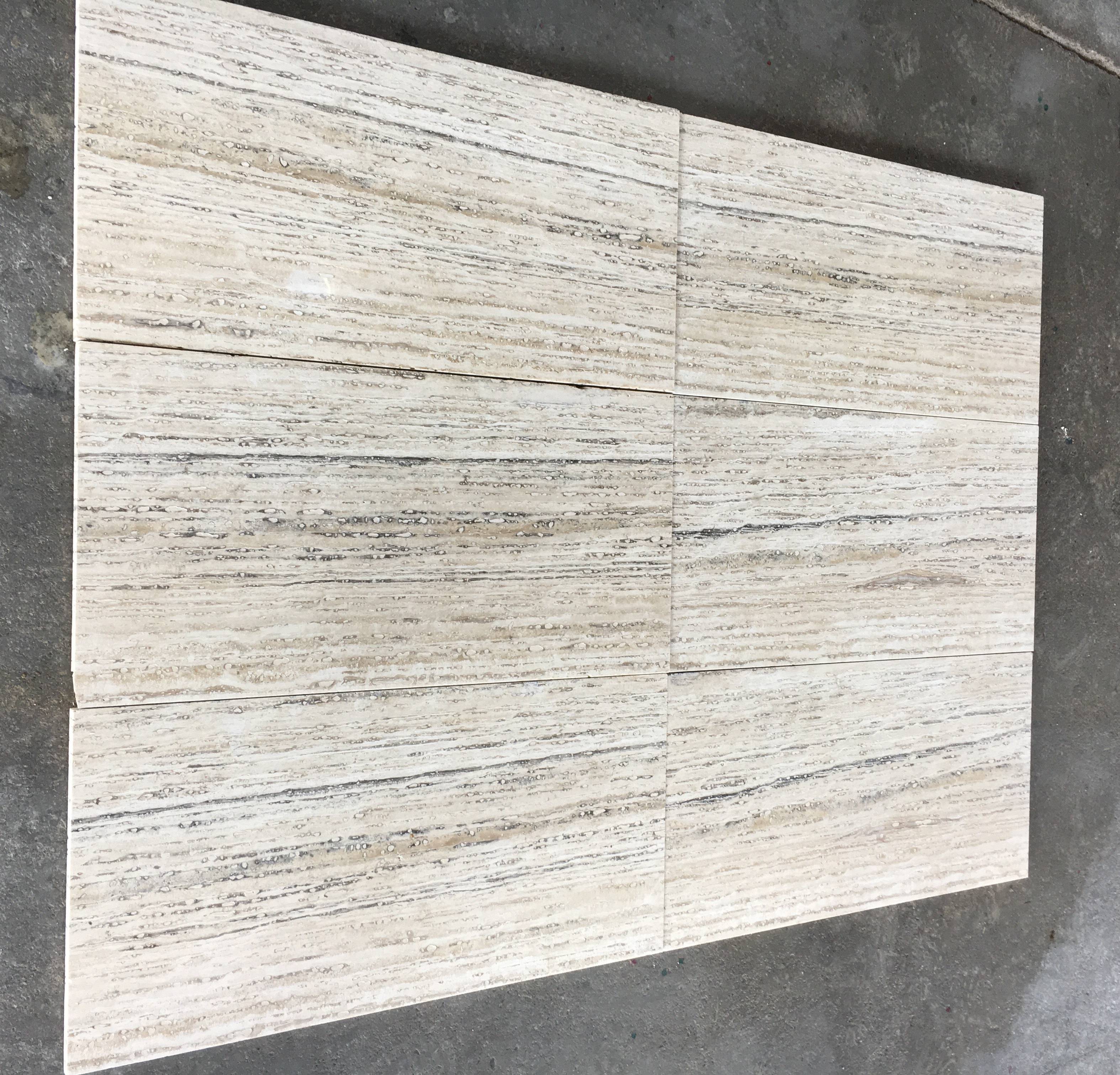 Black & White Travertine