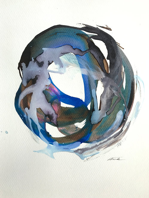Mothering Yin Yang - Limited edition giclee print