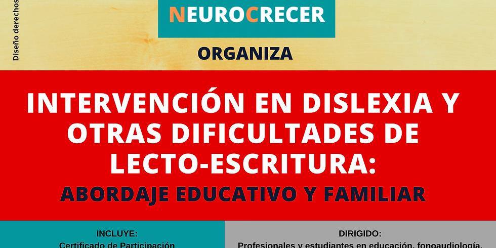 Neurocrecer - Curso Intervención en Dislexia