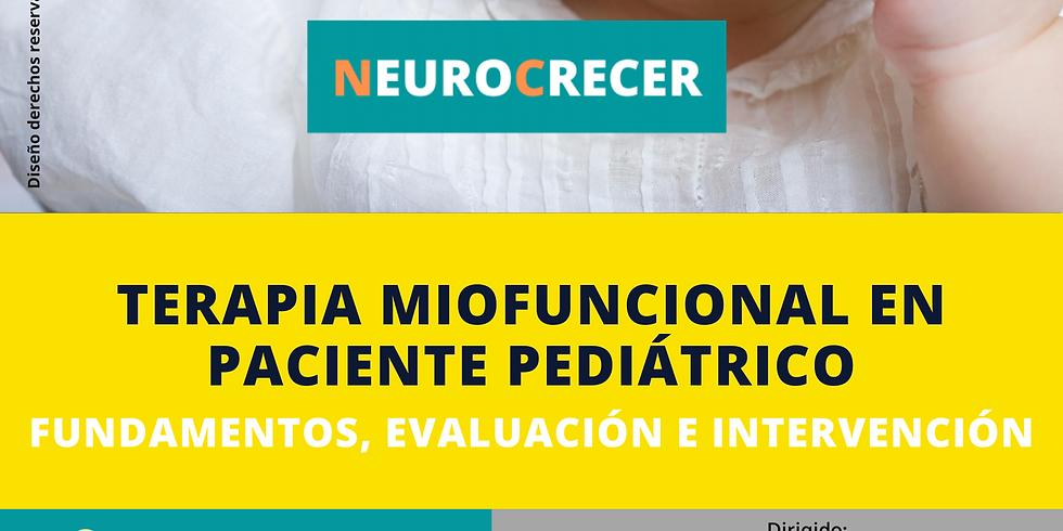 Terapia Miofuncional en Paciente Pediátrico