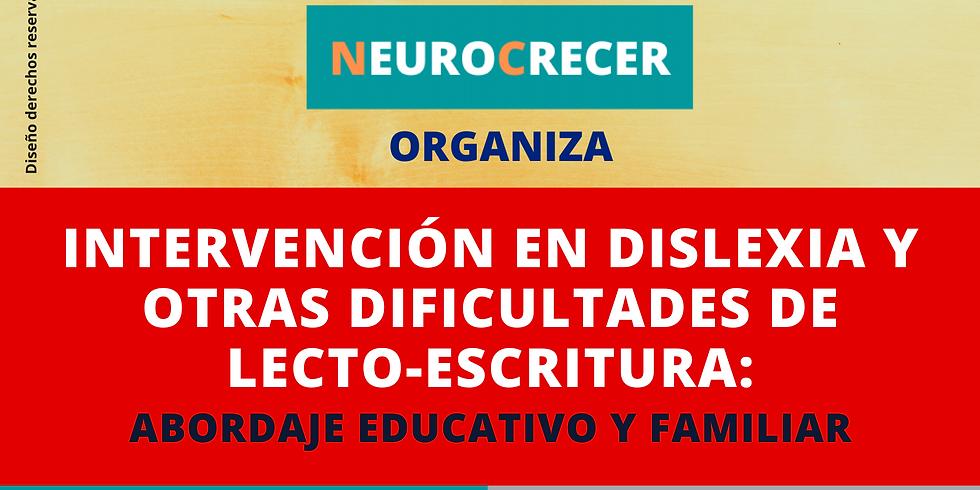 INTERVENCIÓN EN DISLEXIA Y OTRAS DIFICULTADES DE LECTO-ESCRITURA
