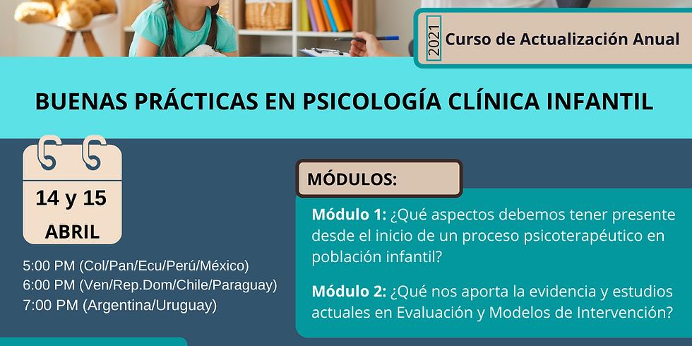 Neurocrecer - Buenas Prácticas en Psicología Clínica Infantil