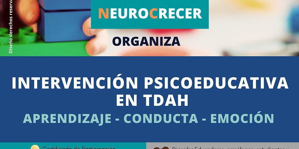 INTERVENCIÓN PSICOEDUCATIVA EN TDAH