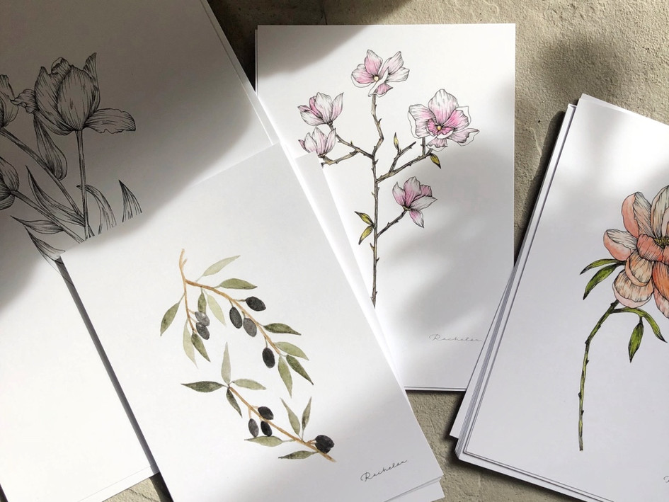 Botanical Print Series