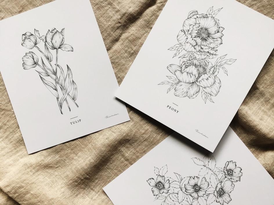 Floral Print Series