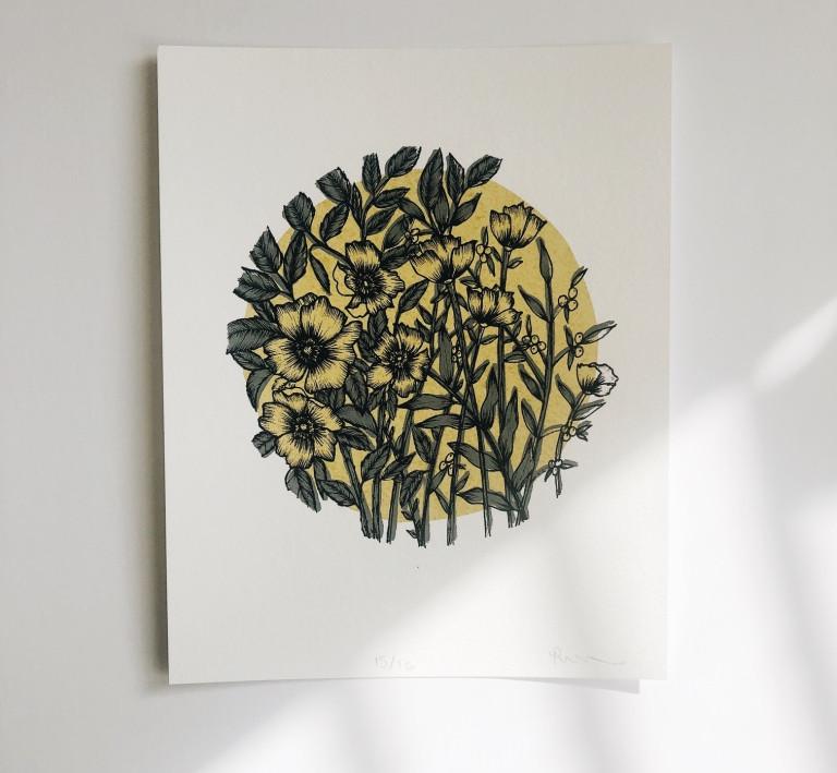 Omas Wallpaper Print