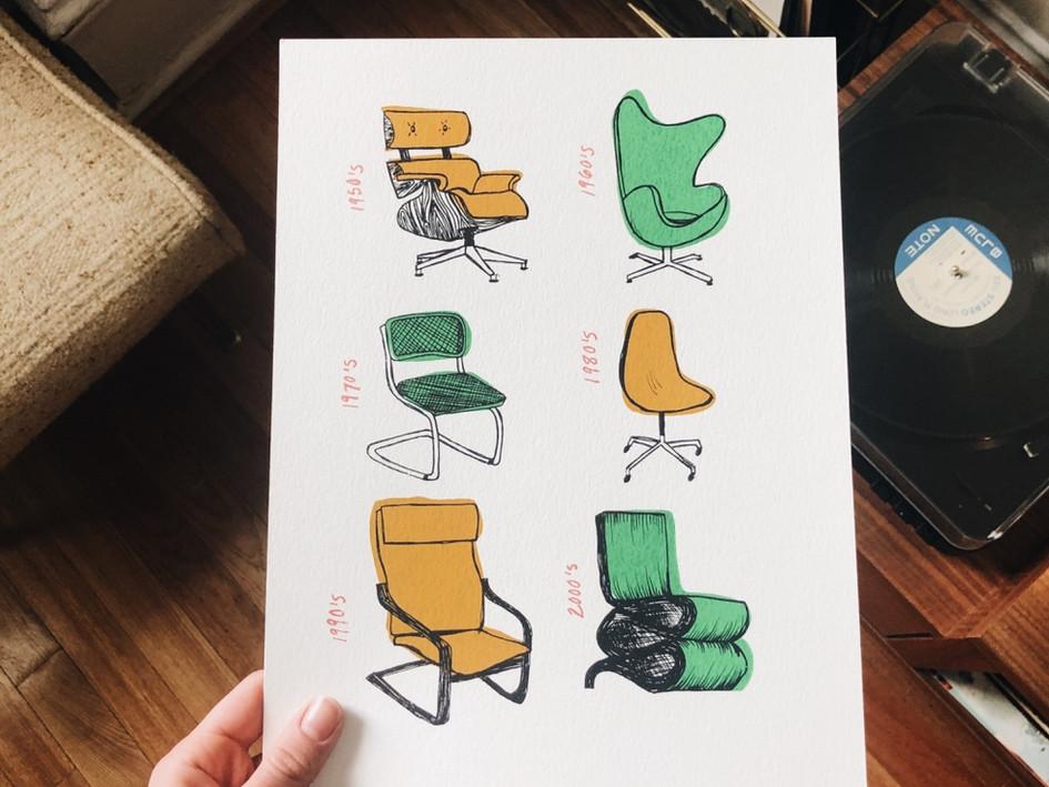 Chair Decades