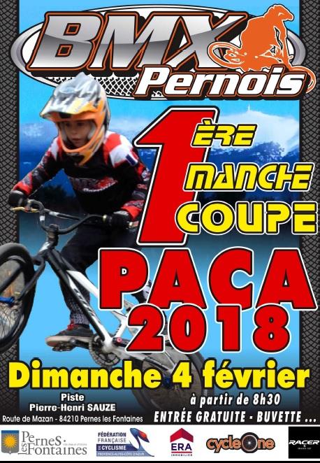 Invitation pour la 1ère manche de la coupe PACA Pernes Les Fontaines (84)
