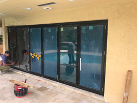 IMPACT BI-FOLDING SLIDING DOORS
